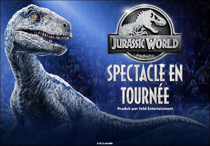 Jurassic World Spectacle en tournée - 3 septembre 2020, Montréal