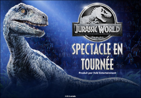 Jurassic World Spectacle en tournée (en Anglais)