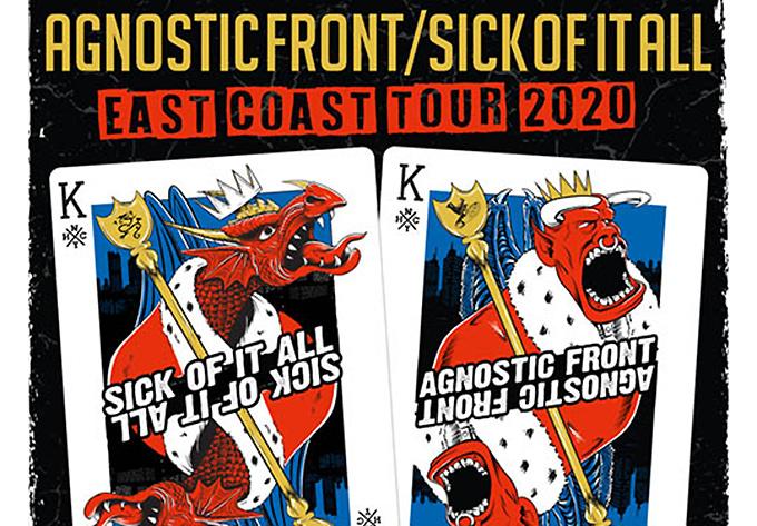 Agnostic Front + Sick of it All - Quebec