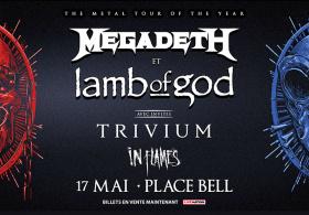 Megadeth + Lamb Of God