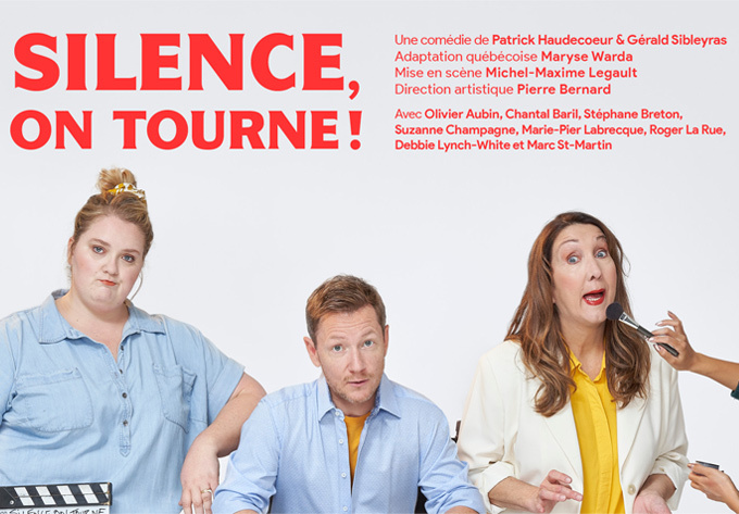 Silence, on tourne! - 22 février 2022, Brossard