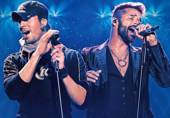 Enrique Iglesias & Ricky Martin - 9 octobre 2021, Montréal