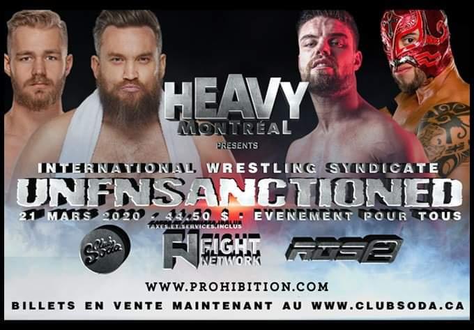 IWS UnFnSanctioned - 17 mai 2020, Montréal