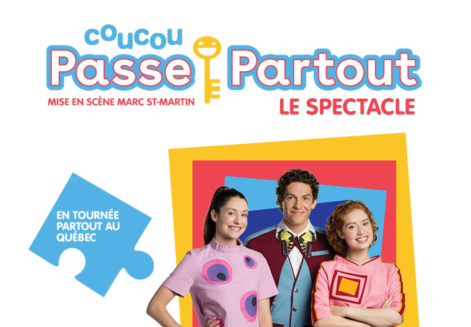 Coucou Passe-Partout, le spectacle ! - Sherbrooke