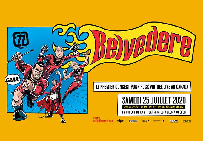 Belvedere - July 25, 2020, Online