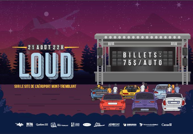 Loud - 21 août 2020, Mont-Tremblant