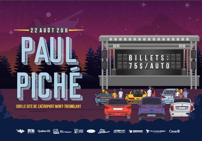 Paul Piché - 22 août 2020, Mont-Tremblant