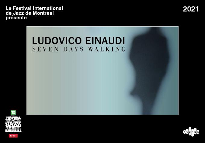 Ludovico Einaudi  - April 27, 2021, Montreal