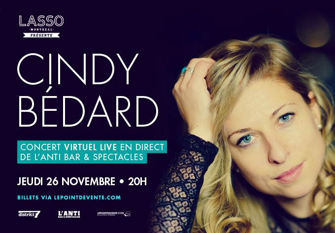 Cindy Bédard - November 26, 2020, Online
