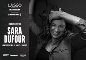 DISCOVERY SERIES : Sara Dufour collaboration with Sirius XM