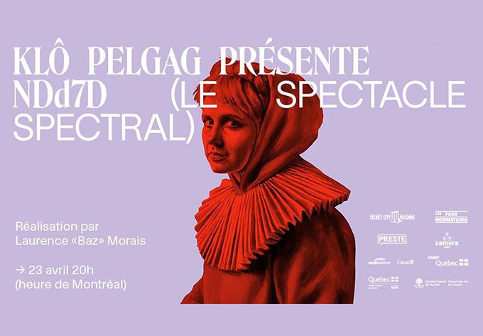 Klô Pelgag - April 23, 2021, Online