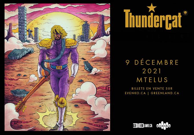 Thundercat - 10 novembre 2021, Montréal