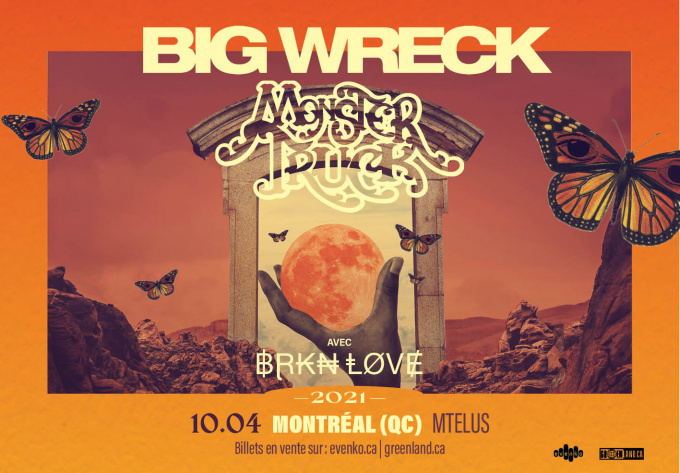 Big Wreck & Monster Truck - December  8, 2021, Montreal