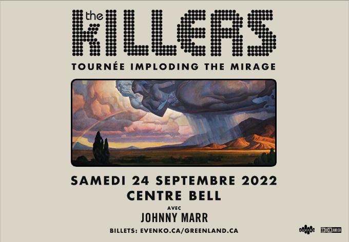 The Killers - September 24, 2022, Montreal