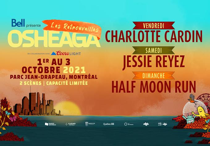 OSHEAGA Get Together 2021 - October  1, 2021, Montreal