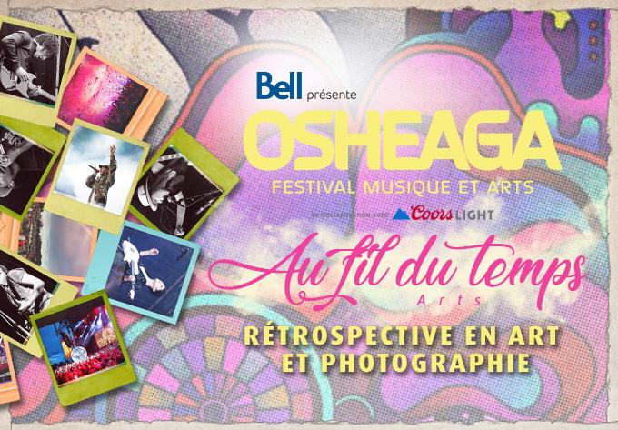 OSHEAGA Through the Ages: Art & Photography Retrospective - August  6, 2021, Montreal